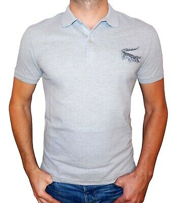 e9f9bdc856 LACOSTE HOMME MANCHE Courte Grand Crocodile T-Shirt Polo Slim Ajusté ...