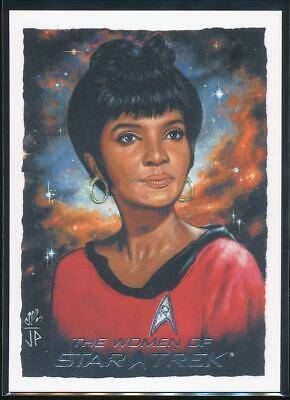 2010 Women of Star Trek ArtiFex Trading Card #6 Lt. Uhura