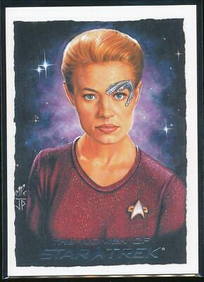 2010 Women of Star Trek ArtiFex Trading Card #8 Seven of Nine