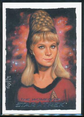 2010 Women of Star Trek ArtiFex Trading Card #10 Yeoman Rand