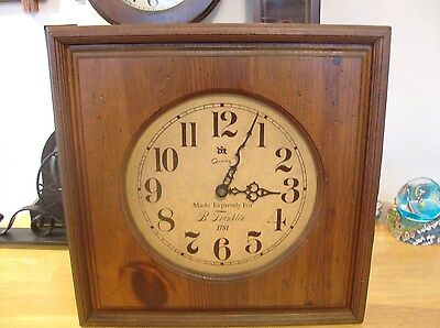 Large (Clock Say Made for B. Franklin 1781) Designs In Time. Made In USA