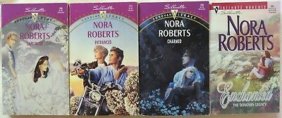 Lot of 4 PB's NORA ROBERTS Complete Series DONOVAN LEGACY Witches 1st ed.OOP/HTF