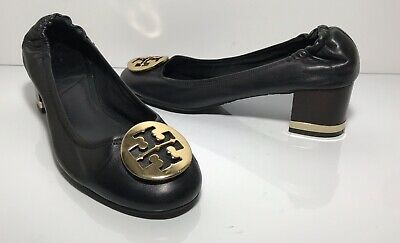 147884c71 TORY BURCH AMY Shoes Heels Pumps All Black Patent Leather ~ Stunning ...