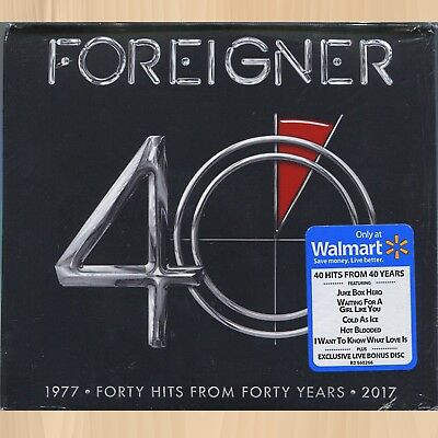 +11 BONUS Live TRACKS----> FOREIGNER 40 Hits From Forty Years EXCLUSIVE 3CD 0429