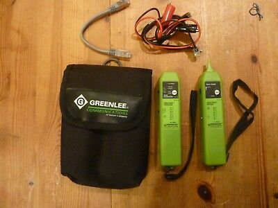 Greenlee tone probe cable check receiver & Tone Generator cable check transmitte