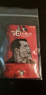 """Exclusive Fright Crate 30 DAY OF NIGHT HORROR MOVIE ENAMEL PIN 1.75"""" SOLD OUT"""