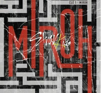 Stray Kids   Cle1: Miroh   2Version Set, Normal Ver, Poster Sealed Tracking Num