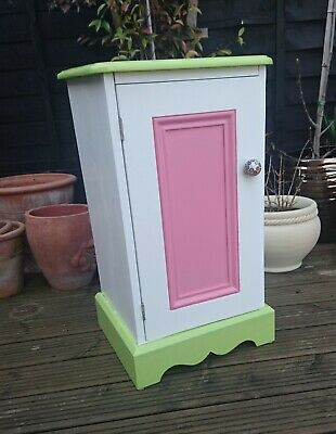 Versatile Vintage Small Wooden Cupboard - Refreshed and Revitalised