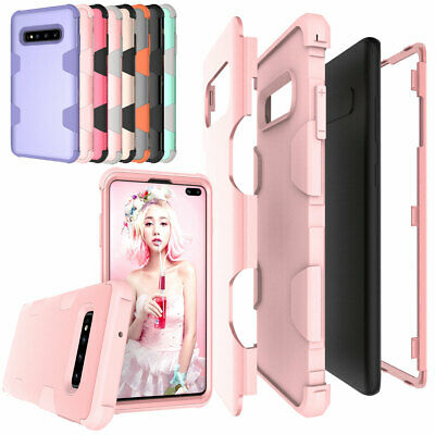 Shockproof Silicone Phone Case Cover For Samsung Galaxy S10 / S10e / S10 Plus