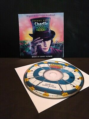 Charlie and the Chocolate Factory Original Motion Picture Soundtrack CD