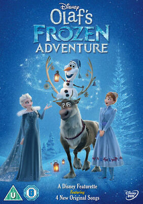 Olaf's Frozen Adventure DVD (2018) Kevin Deters