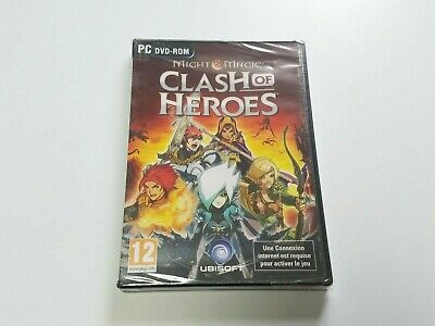 MIGHT & MAGIC CLASH OF HEROES sur PC-DVD ROM - FR - JEUX NEUF SOUS BLISTER
