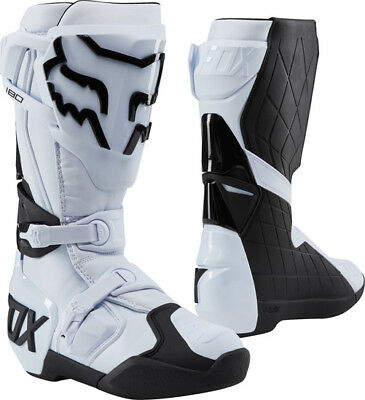 FOX 180 Boots White Motocross Mx Off Road Boot Sale