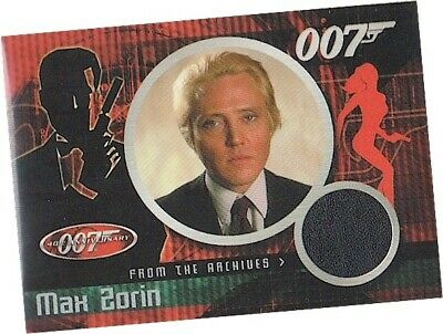 James Bond 40th Anniversary - CC2 Christopher Walken Max Zorin Costume Card VLSD
