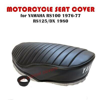 Yamaha Rs100 1976-1977 Rs125 Rs125 Dx 1980 Seat Cover & Seat Strap