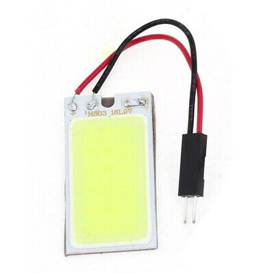 1X(Auto Super Brillant blanc 18 COB LED Lumiere Ampoule Panneau + T10 feston 2U