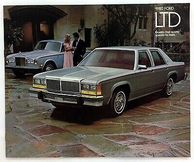 Car Auto Brochure 1980 Ford Ltd 14 Pages
