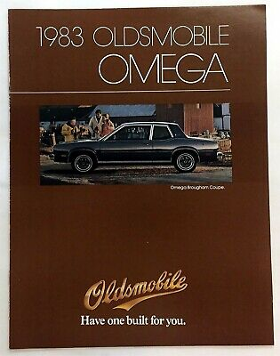 Car Auto Brochure 1983 Oldsmobile Omega 8 Pages