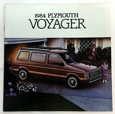 Car Auto Brochure 1984 Plymouth Voyager 16 Pages