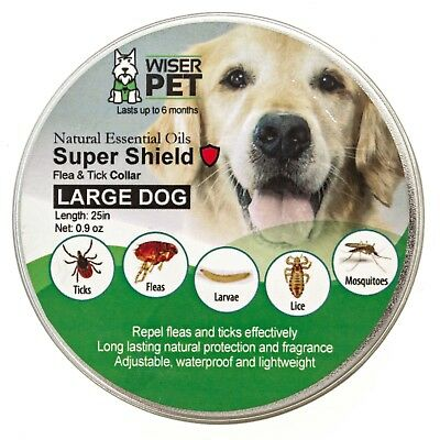 Natural Flea Collar For Dogs - safe & effective natural flea and tick prevention
