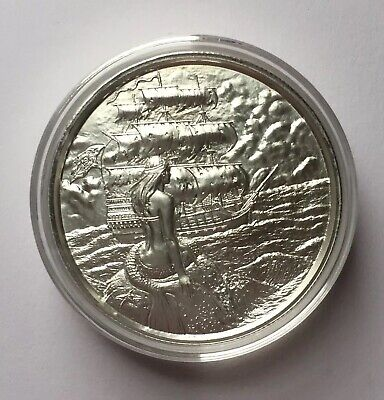 Siren 2oz .999 Silver Ultra High Relief Round. 2nd In The Privateer Series.