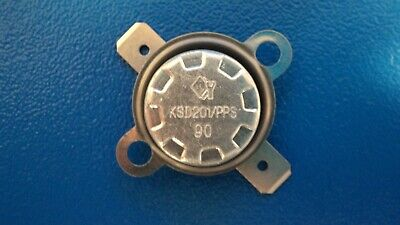 90C NC THERMAL SWITCH THERMOSTAT KSD201//PPS