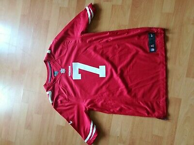 d4b5b3cce87 NIKE SAN FRANCISCO 49ers Colin Kaepernick Jersey Men Large On Field ...