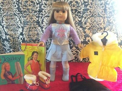 Pleasant Company American Girl Of Today Blonde Hair Brown Eyes AGOT #12 w/extras
