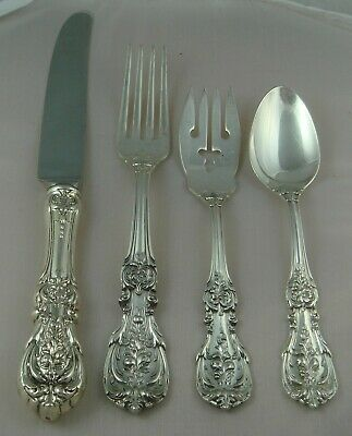 ! Reed & Barton Francis I Sterling Silver Four Piece Setting Old Hallmarks