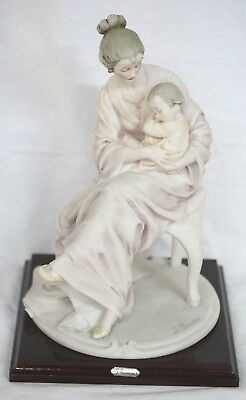 Vintage G. Armani Statue Figure of mother with Child
