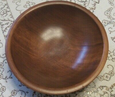 Munising Wood Bowl - near mint  10-3/4                                    JVM M9