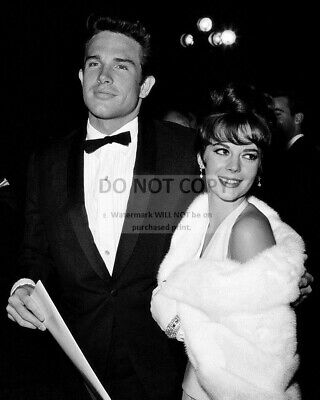 Natalie Wood And Warren Beatty At The 1962 Academy Awards - 8X10 Photo (Rt826)