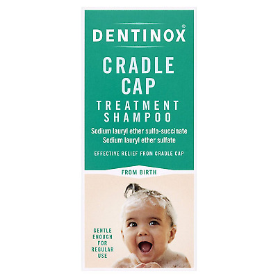 Dentinox Cradle Cap Treatment Shampoo for Babies