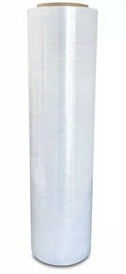 "18"" x 1500' 80 Gauge Pallet Wrap Stretch Film Shrink Hand Wrap 1500' 1 Roll-9 lb"