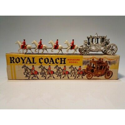 "Benbros Qualitoy "" Royal Coach "" Miniaturansichten Modell / Made in England"