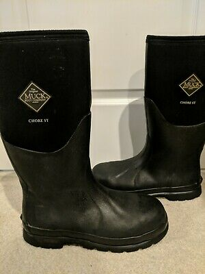 61eb75d6ec0 THE ORIGINAL MUCK Boot Company Chore S Unisex Rubber Boots SZ Mens 10  Women's 11