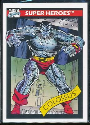 1990 Marvel Universe Series 1 Trading Card #36 Colossus