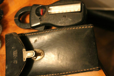 Amprobe Clamp-on Clamp Meter With Case vintage