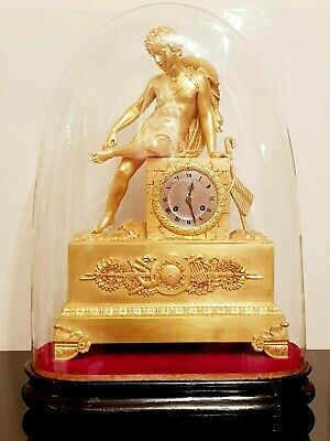 RARE French ,,figural'' clock,,BOY WITH THORN-SPINARIO (1814-1830)
