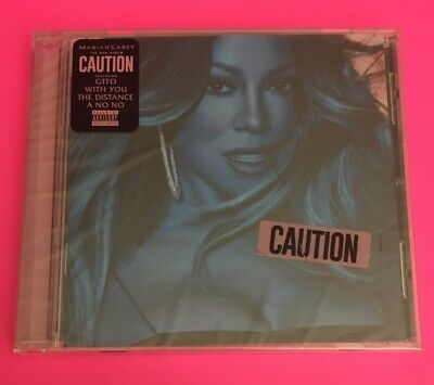 ❤️Mariah Carey **Caution [Explicit Content]** BRAND NEW CD - FREE SHIPPING!!❤️