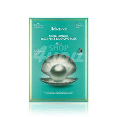 JM Solution Marine Luminous Black Pearl Balancing Mask Pearl 1Pack (10ea)