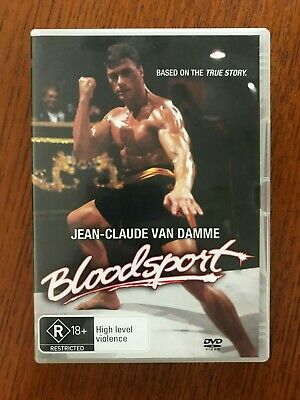 Bloodsport DVD Region 4 Disc VGC Like New