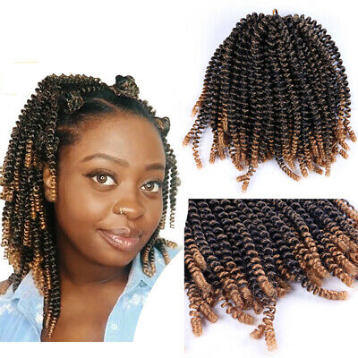 Nubian Twist Fluffy Twist Crochet Hair Extension Braiding Bomb