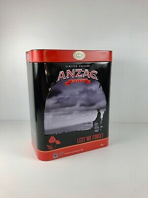 Anzac Lest We Forget Tin Limited Edition 2017