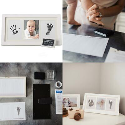 Beautiful Baby Handprint Kit & Footprint Photo Frame for Newborn Girls and...