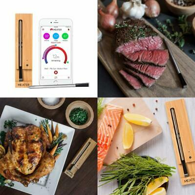MEATER – 100% Wireless Meat Thermometer: No wires. fuss. Track your cooks...