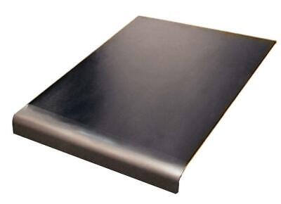 Stainless steel worktop saver chopping board round edge (500mm wide 500mm...