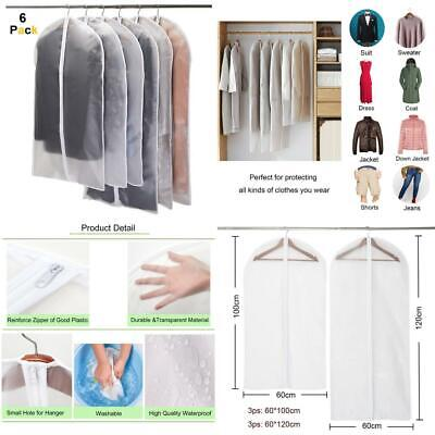 Niviy Garment Covers, Dustproof Clothes Covers Moth Proof Coat Bag with Zip,...
