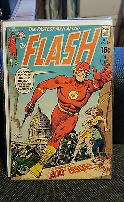 "The Flash # 200-1970-""count 200..and Die!""-Special 200Th Issue!"