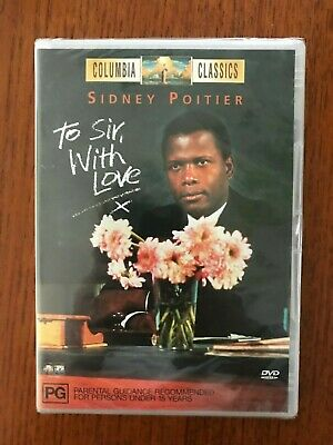 To Sir With Love DVD New & Sealed Region 4